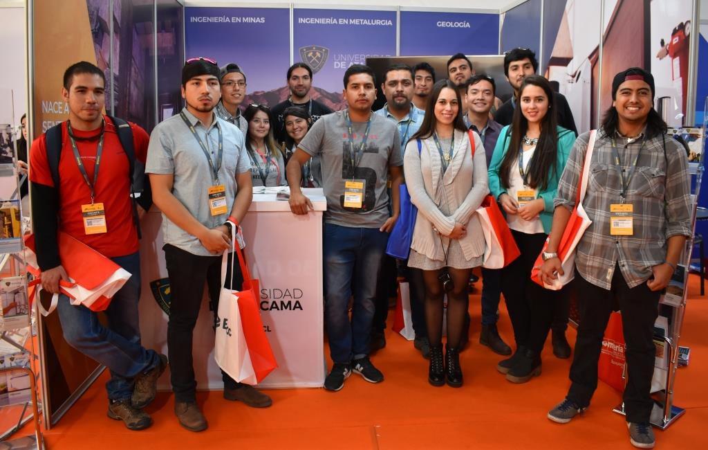 Universidad de Atacama tuvo una exitosa participación en la EXPOMIN 2018
