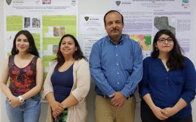 Departamento de Geología felicitó a estudiantes por notable participación en el XV Congreso Geológico Chileno