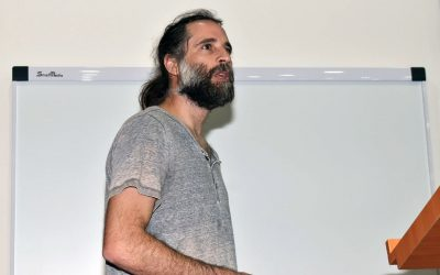 Charla Magistral del Dr. Germán Aguilar, Investigador de AMTC de la Universidad de Chile