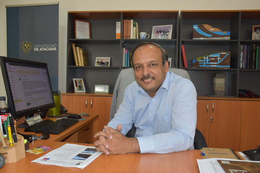 Director de Geología obtuvo financiamiento para asistir al 36° Congreso Geológico Internacional