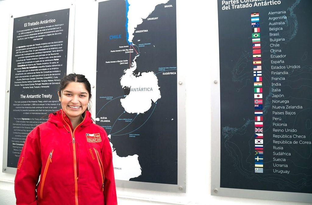 Tesista de Geología de la UDA realiza su investigación sobre el Cambio Climático en la Antártica